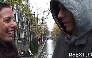 Hawt dude takes a travel and visites the amsterdam prostitutes