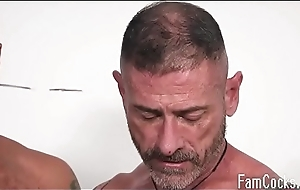 Old man craves to simian his sons- FAMILYDICKSOME