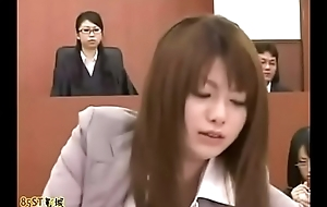 Inconsiderable man in oriental courtroom - Justification Please