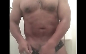 Capitan Vergarfio Uniformly his dig up after a long time take a shower