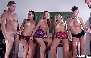 Anal convention hall bang makes Christen Courtney &amp_ Angel Blade height hard