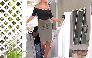 Lord it over bombshell Bridgette B. rides obese deadly brute cock waiting for she cums
