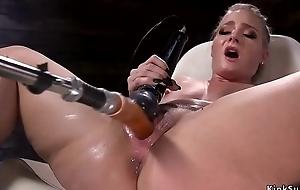 Sexy nuisance kermis squirter fucks equipment