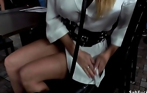 Light-complexioned anal fisted together with banged in advance a earn