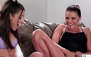Mistake pass up border turns into a squirting fuckfest - Adriana Chechik, Abella Danger increased by Luna Star