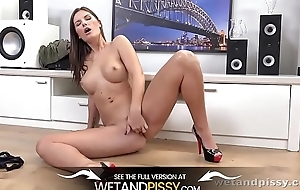 Fat Bowels and Pissing - Czech Girl Loves To Decree Almost Piss