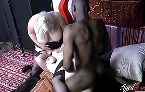 AgedLovE Lacey Starr Interracial Triple