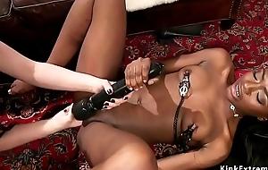 Super bit of crumpet anal bangs black slave
