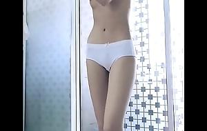 Oriental Girl Winking Naked 02