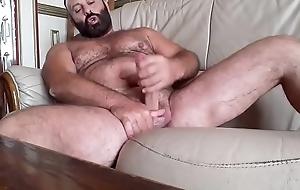 Franco Mina pornstar puristic bear beard solo cum