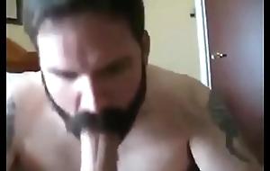 Hot Man far Nice Beard Sucks My Big Weasel words Take a shine to a PRO