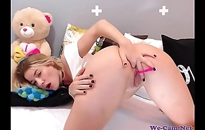 Sexy Juvenile Beauteous Fingering Pussy With an increment of Arse