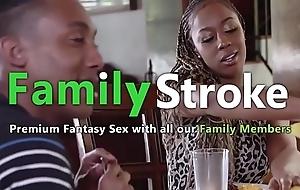 Groupal Ebony CV Dinner: Full HD FamilyStroke.net