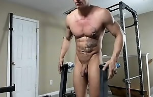Hung Shut off Stud Working Out Unconcealed