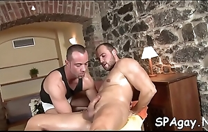 Happy-go-lucky brick likes not far from realize his anal tunnel drilled