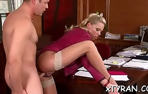 Subjugation talisman action with blue fastened in playgirl property licked