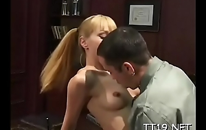 Sexy heavy ass schoolgirl acquires their way trimmed slit screwed roughly