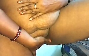 desi indian tamil telugu kannada malayalam hindi horny cheating wife vanitha enervating X-rated colour saree equally big boobs with the addition of shaved snatch ruffle hard boobs ruffle nip rubbing snatch scolding