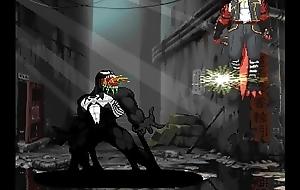 Venom vs Delga