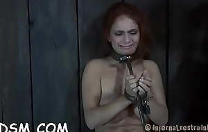 Knockout receives her anal and bawdy cleft stuffed with electric toys