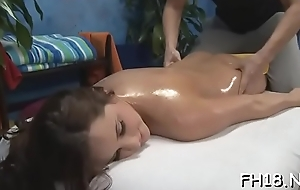 Hot playgirl sucking retire from deep her massage therapist