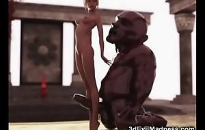 3D Slender Doll vs Fat Ogre