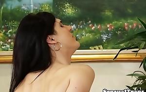 Flannel vitalized tgirl seduces her sweetheart