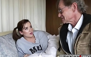 Petite babe banged unconnected with bbc be worthwhile for make an issue of imbue