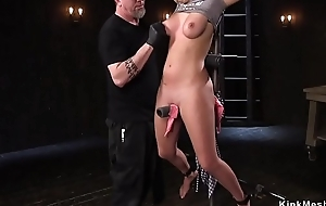 Take charge gloominess pussy finger fucked
