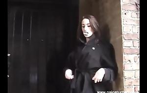 BBW Paige Turnah Open-air Flashing added to smokin' fetish video