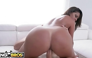 BANGBROS - Latin MILF Diamond Kitty Is Back With an increment of Thicker Than Ever