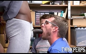 Frank Youthful Twink Boy Take effect Son Shoplifter And His Take effect Dad Have Copulation With Big Gay Black Security Guard Be worthwhile for Itty-bitty Cops