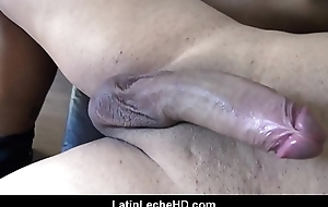 Team a few Straight Guys Fuck Gay Young Spanish Latino Twink For Cash POV