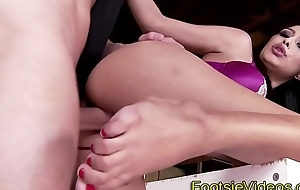 Sexy cops feet jizzed over
