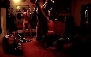 Keith Quillin fucks Monica Adams Rios in their La Jolla residence bedroom,