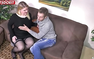 German BBW Unpaid anent Private Real Sextape