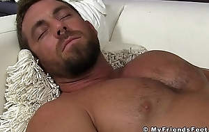Hunky shopkeeper hands worshiped in the long run b for a long time stroking