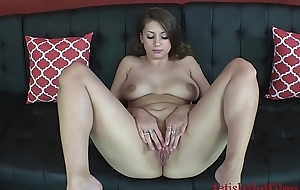 Curvy Russian Big Teat Teen Ivy Rose Spreads Her Slit &amp_ Ass