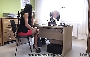 LOAN4K. Hot gloom gripe pays with sex to win access to her domineering