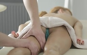 Nice massage with pussy licking added to hot hardcore porn with spunk flow