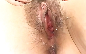 Amateur Japanese lady sucks powerful load of shit forth POV