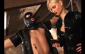 German blonde thistledown punishes her duteous slaves