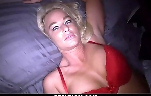 Thersitical tow-haired materfamilias sucks pompous impede plus gets screwed hither POV