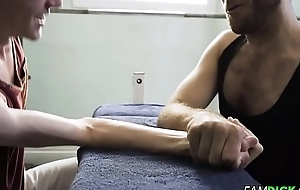 Victorian Stepdaddy Barebacked Twink Stepson After Workout