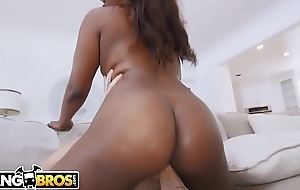 BANGBROS - Ebony Pornstar Skyler Nicole Receives Anal From Tyler Nixon