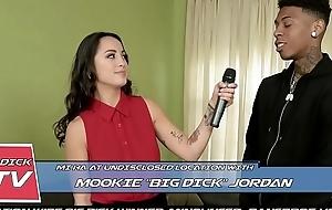 BANGBROS - Oriental Sportscaster Mi Ha Takes On Mookie'_s Big Black Bushwa
