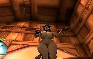 worgen husky stripper